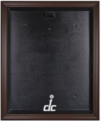 Washington Wizards Brown Framed Jersey Display Case