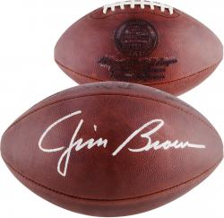 Jim Brown Autographed Football
