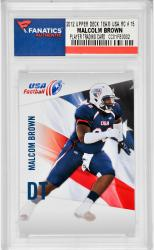 Malcolm Brown USA Football 2012 Upper Deck Team USA #15 Rookie Card