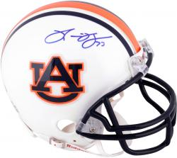 Ronnie Brown Auburn Tigers Autographed Riddell Mini Helmet