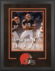 Cleveland Browns Deluxe 16'' x 20'' Vertical Photograph Frame with Team Logo - Mounted Memories