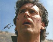 "BRUCE CAMPBELL as ASH WILLIAMS in ""EVIL DEAD"" Signed 10x8 Color Photo"