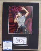 Bruce Dickinson Iron Maiden Signed Autographed 11 x 14 Matted Photo Display #4