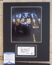 Bruce Dickinson Iron Maiden Signed Autographed 11 x 14 Matted Photo Display #6