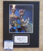 Bruce Dickinson Iron Maiden Signed Autographed 11 x 14 Matted Photo Display #8