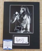 Bruce Dickinson Iron Maiden Signed Autographed 11 x 14 Matted Photo Display #9