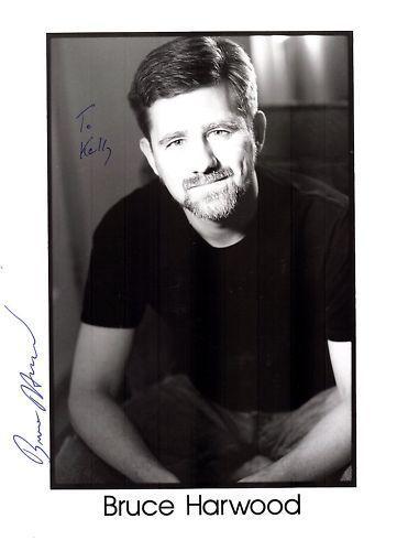 Bruce Harwood-signed photo