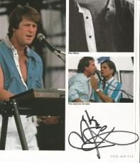 """Bruce Johnston """"beach Boys"""" Signed Autographed 8x10 Book Page W/coa Authentic"""