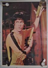Bruce Lee 1977 Movie Poster 21x31 Authentic Rare Original