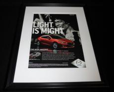 Bruce Lee 2014 Mazda 3 Framed 11x14 ORIGINAL Vintage Advertisement