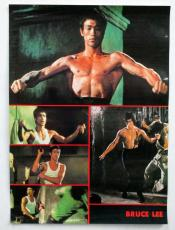 "Bruce Lee Collage Poster 15"" x 20 1/2"
