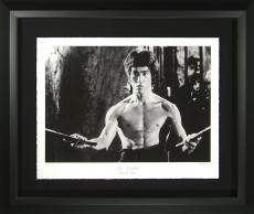 Bruce Lee - The Master Fine Art Photograph Framed LE