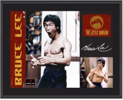 LEE, BRUCE (THE LITTLE DRAGON) SUBLIMATED Photo  PLAQue (10x13 BOARD)