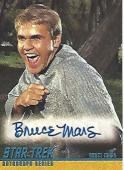"BRUCE MARS as FINNEGAN in ""SHORE LEAVE"" of ""STAR TREK"" Signed 2004 PARAMOUNT PICTURES CARD"