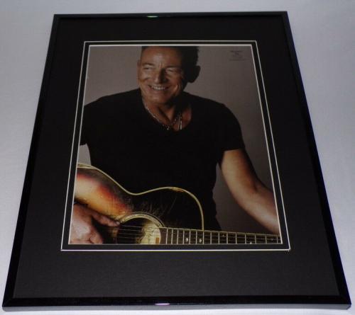 Bruce Springsteen 2018 11x14 Framed Photo Display