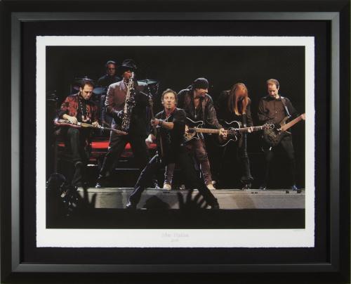 Bruce Springsteen at Shea Stadium Fine Art Photograph Framed