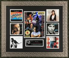 BRUCE SPRINGSTEEN authentic signed 11x14 custom framed display Beckett's COA