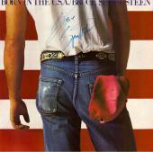 "Bruce Springsteen Autographed ""Born In The U.S.A"" Album (PSA/JSA)"