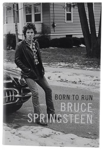 Bruce Springsteen Autographed Born To Run Book - BAS