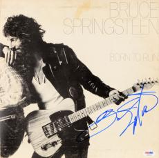 Bruce Springsteen Autographed Born to Run Vinyl Cover - PSA LOA