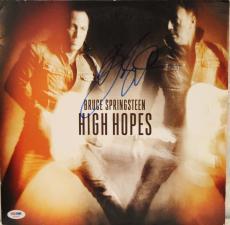 "BRUCE SPRINGSTEEN Autographed ""High Hopes"" Album LP PSA/DNA #AA04433"