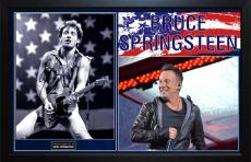 Bruce Springsteen Autographed Signed 11x14 Photo With Custom Display Case
