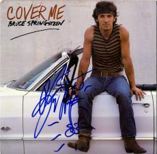 Bruce Springsteen Autographed Signed Cover Me Album LP w Rare Guitar Sketch