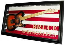 Bruce Springsteen Autographed Signed Guitar & Custom Case PSA