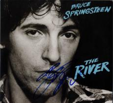 Bruce Springsteen Autographed Signed The River Album Cover AFTAL UACC RD