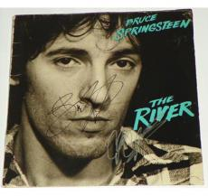 Bruce Springsteen Autographed Signed The River Album Cover LP