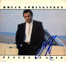 Bruce Springsteen Autographed Signed Tunnel Of Love Album AFTAL UACC RD COA PSA