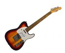 Bruce Springsteen Autographed Sunburst Tele Style Guitar AFTAL UACC RD COA