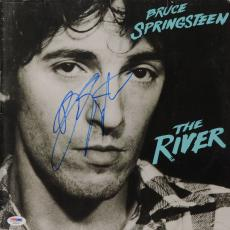 Bruce Springsteen Autographed The River Vinyl Cover - PSA/DNA LOA