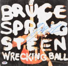 Bruce Springsteen Autographed Wrecking Ball Album Cover - PSA/DNA LOA