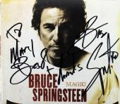 """Bruce Springsteen """"Best & Thanks"""" Signed Magic CD Cover w/ Disc BAS #A10779"""