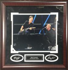 Bruce Springsteen Billy Joel Rock & Roll HOF 11x14 Framed Photo Collage 21x20