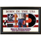 Bruce Springsteen Born In The USA Album Collage