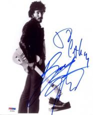 Bruce Springsteen Born In The Usa Signed 8x10 Photo Psa/dna #s14604