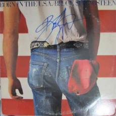 BRUCE SPRINGSTEEN Born in USA Autographed Signed Album Record Certified PSA/DNA