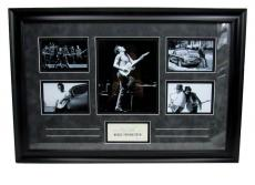 Bruce Springsteen Born to Run Autographed/Signed Framed Collage JSA/LOA 135278
