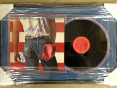 Bruce Springsteen & Clarence Clemons  Hand-Signed Album     With Certificate Of Authenticity