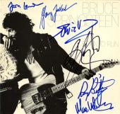 Bruce Springsteen E-Street Band Signed Album Cover UACC RD AFTAL RACC TS
