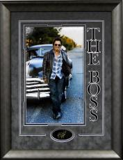 Bruce Springsteen Framed 16x20 Photo with Laser Signature