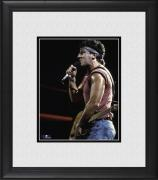 "Bruce Springsteen Framed 8"" x 10"" Singing Photograph"