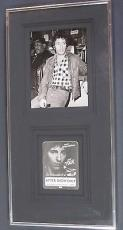 Bruce Springsteen Framed original rare  Photo w/ Backstage Pass Famous Artist