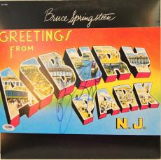 """BRUCE SPRINGSTEEN """"Greetings From Asbury Park"""" Album LP PSA/DNA #AA04430"""