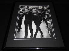 Bruce Springsteen / Patti Scialfa 2009 Framed 11x14 Photo Display