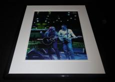 Bruce Springsteen Patti Scialfa 2016 Framed 11x14 Photo Display