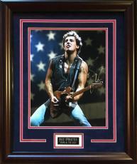 Bruce Springsteen Signed 11x14 Photo Framed  PSA/DNA coa  born in usa auto rare