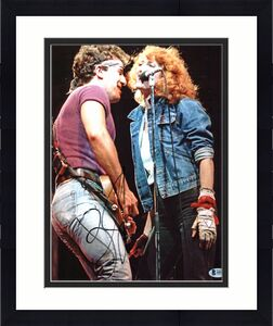 Bruce Springsteen Signed 11x14 Photo w/ Patti Scialfi BAS #A05214